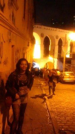 Arcos Da Lapa : Arco da lapa à noite