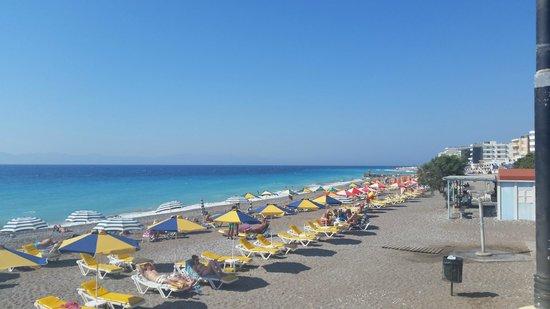 Kipriotis Hotel Rhodes: beach