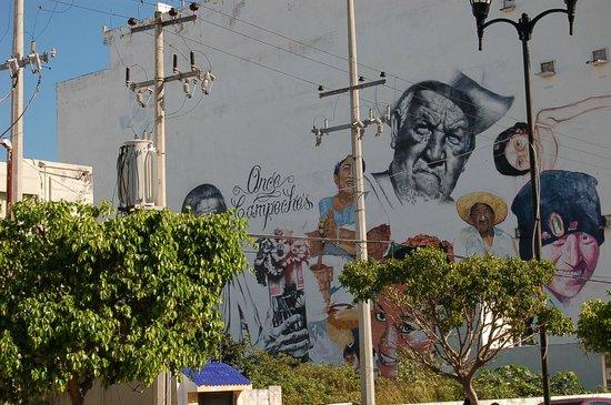 Gamma Campeche Malecón: на подходе к отелю
