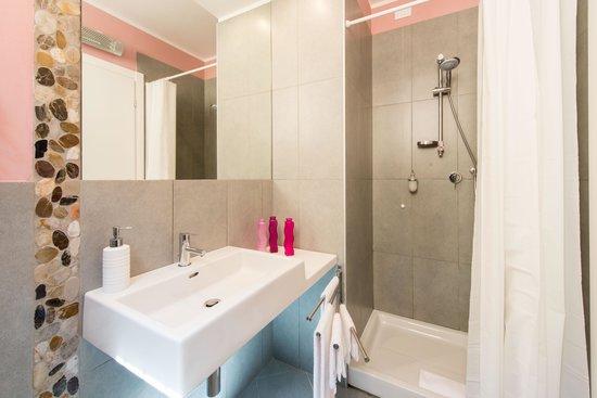 Gli Scoiattoli Hotel Restaurant: Particolare bagni Gli Scoiattoli Bivigliano