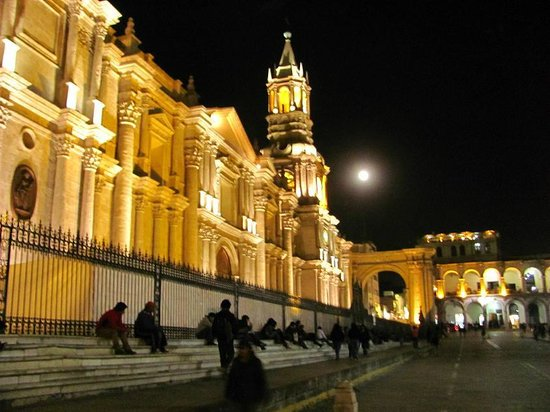 Catedral Plaza de Armas Arequipa