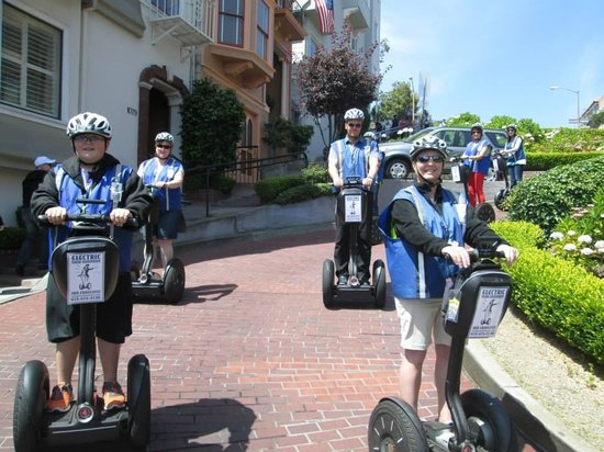 Electric Tour Company Segway Tours: Lombard St