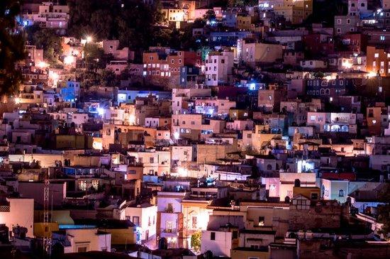 El Meson de los Poetas : View from the terrace on the roof