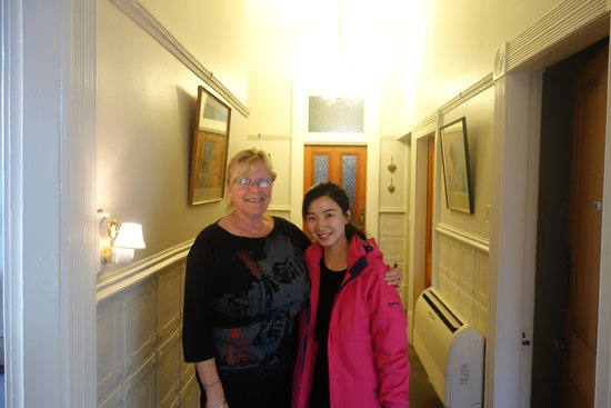 Hazel House Boutique Bed & Breakfast: nice to meet you