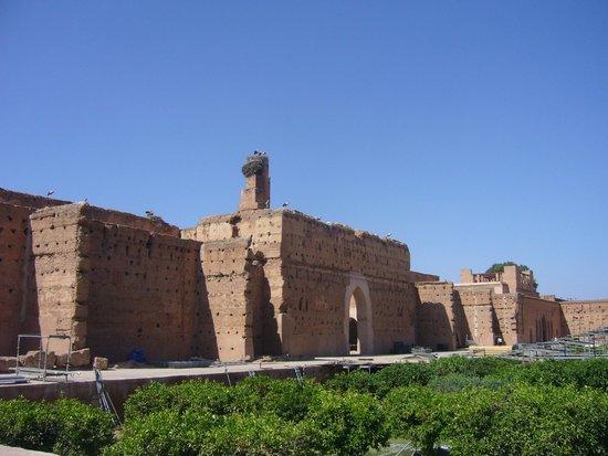 Foto De Palacio El Badi Marrakech Palacio El Badi Muros - Muros-exteriores