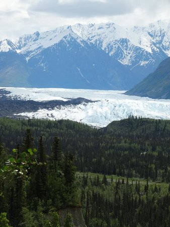 Sheep Mountain Lodge: Matanuska Glacier.
