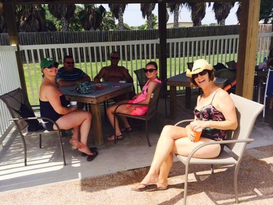 Drifters Resort: The Pool Cabana sure is Popular!