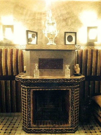 Riad El Mansour: Dining room