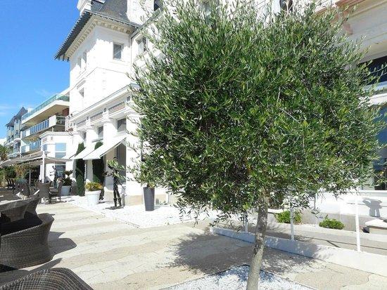 Hôtel Villa Caroline : Villa Caroline- Terrasse