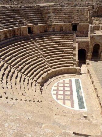 Ruinen von Gerasa: teatro nord