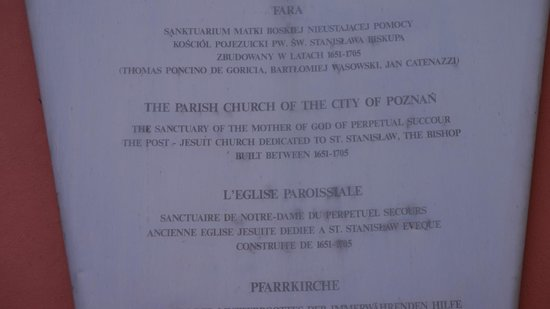 Old Market Square: Church info