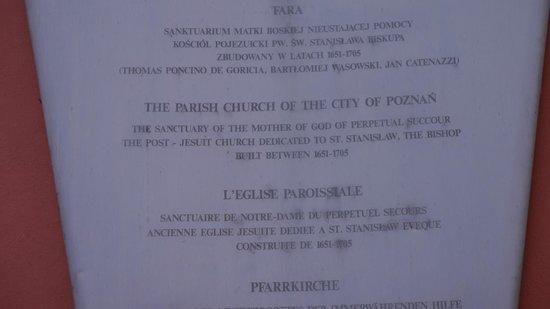 Old Market Square : Church info