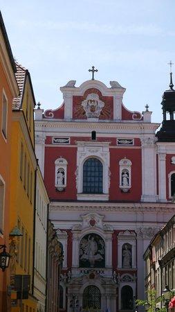 Old Market Square: church