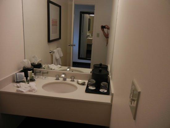 Washington Plaza Hotel: Bathroom sink area