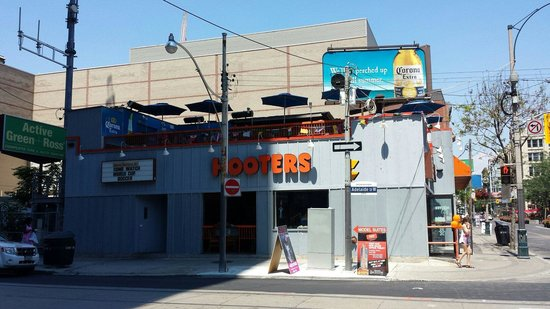Hooters restaurant canada porn