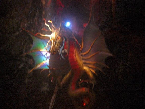 Cheddar Caves & Gorge: The dragon at the end of the Crystal cave