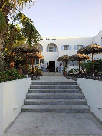 Alexandra Hotel: ingresso hotel