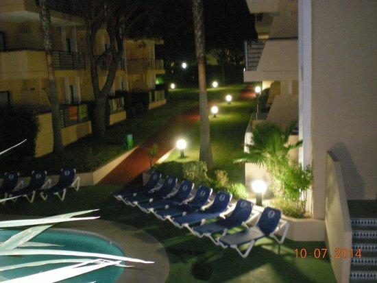 Sol Sancti Petri: Vista nocturna