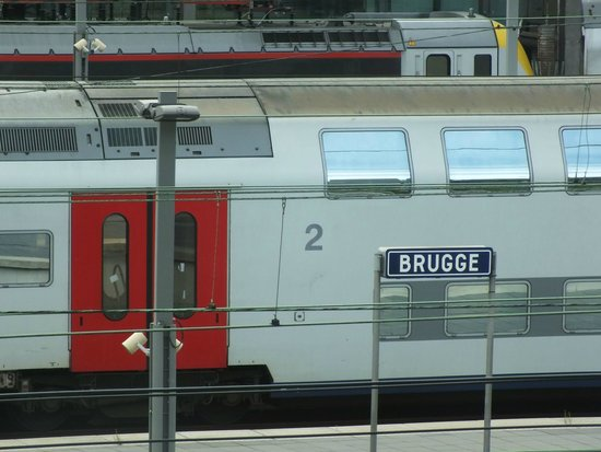 Hotel Ibis Budget Brugge Centrum Station: View from room 136