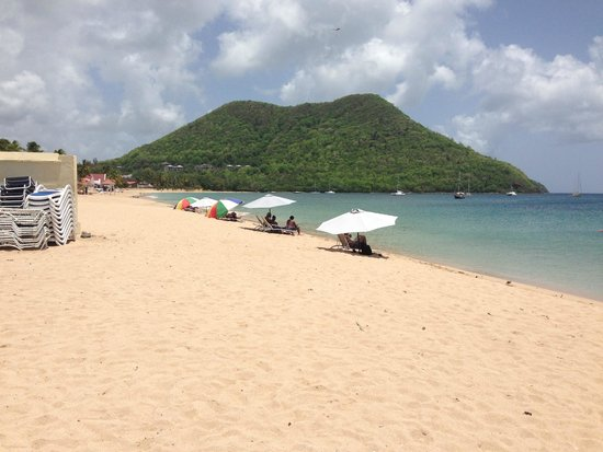 Coco Palm Resort : BEACH AREA