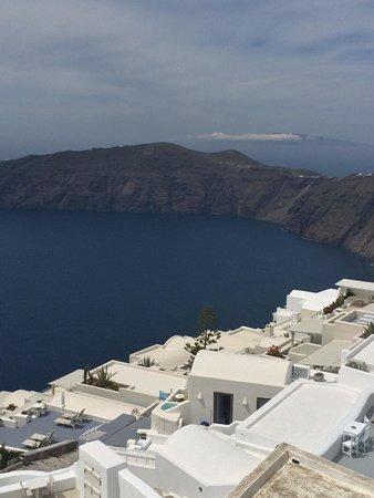 Langas Villas: Desde el balcón
