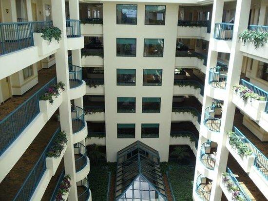 Hilton Boca Raton Suites: interior hotel