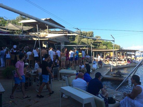 Macakizi Hotel Bodrum : Beach bar