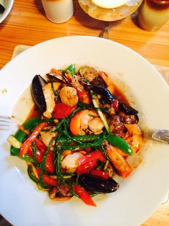 The West Bay Hotel: Shellfish Stir-Fry
