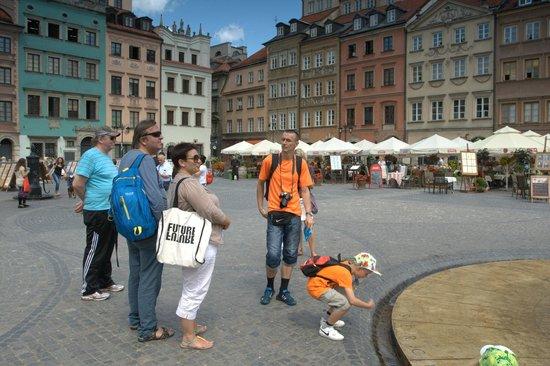 Old Town: в Варшаве летом в начале июля