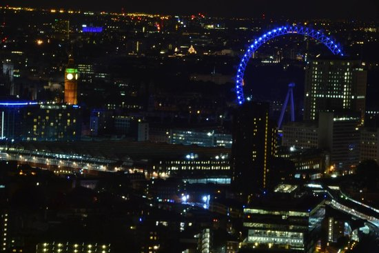 Shangri-La Hotel, At The Shard, London: View from room 4113