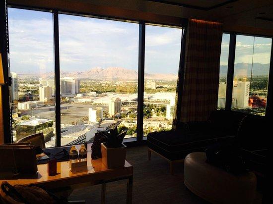 Encore At Wynn  Las Vegas: 38th Floor Mountain View