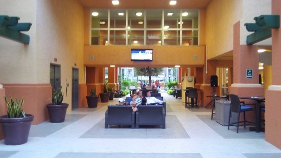 Wyndham Palm-Aire: Common area / lobby