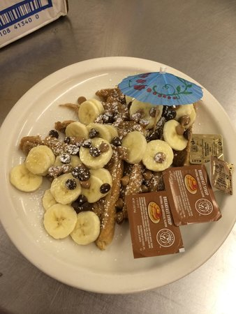 Oasis Beach Grille: Chunky Monkey French Toast