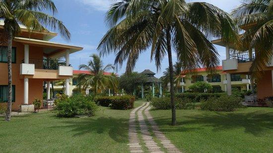 Hotel Playa Costa Verde: Jacuzzi area between rooms