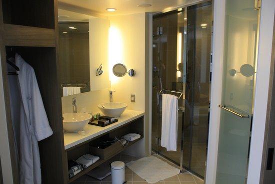 Ana Intercontinental Tokyo : バスルーム