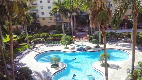 Wyndham Palm Aire Swimming Pool