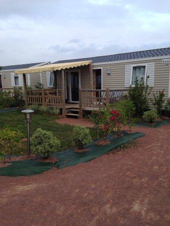 Camping Les Blancs Chenes : Notre mobilhoe