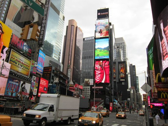 Times Square Visitors Center : Times Square N.Y.city