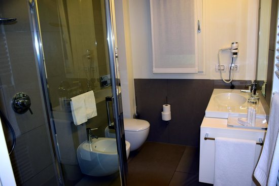 Locanda La Gazzella: unser Badezimmer