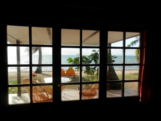 Hotel Atiapiti : vue de la chambre