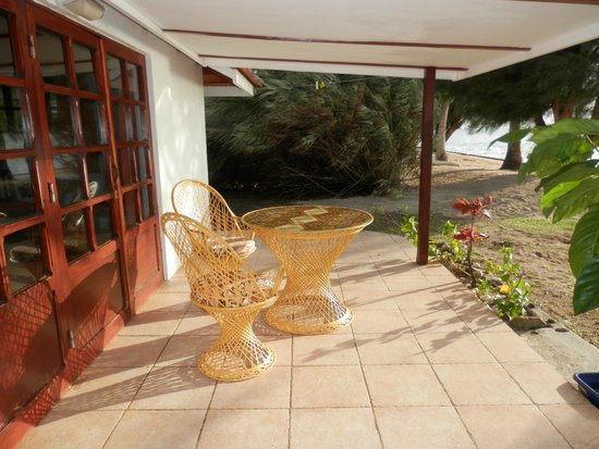 Hotel Atiapiti : terrasse