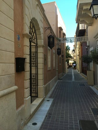 Palazzo Rimondi: Вход в отель