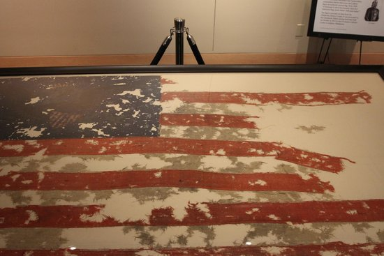 Chickasaw Cultural Center: Levi Colbert Flag