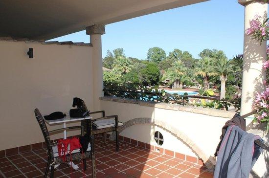Hotel Costa dei Fiori: Terrazzino camera IBISCUS