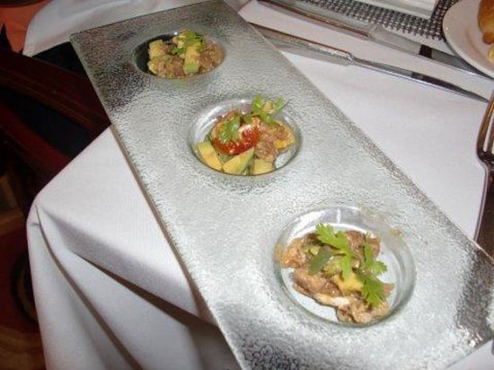 Cooking Class in La Casona Restaurant: Tuna tartare