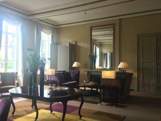 Hotel Dukes' Palace Bruges: Lounge area