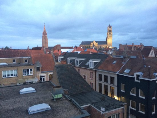 Hotel Dukes' Palace Bruges: View from room