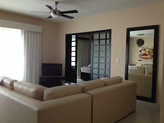 Azul Beach Resort The Fives Playa Del Carmen: Living