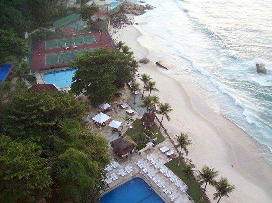 Sheraton Grand Rio Hotel & Resort: Vista desde el balcon