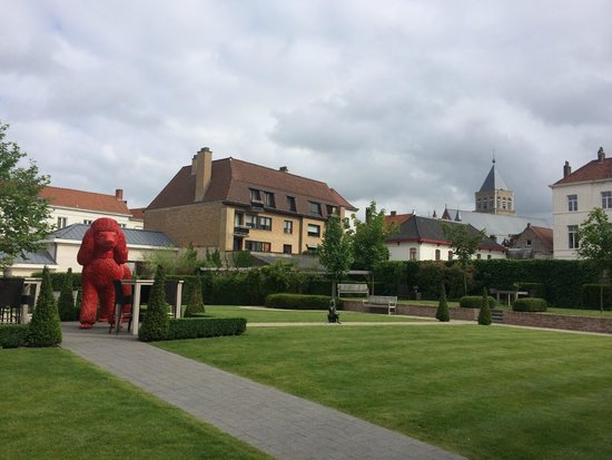 Hotel Dukes' Palace Bruges: Green space and garden